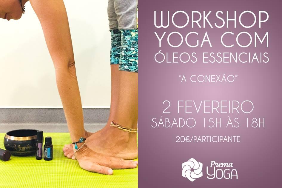Yoga com Óleos Essenciais - Prema Yoga - fevereiro 2019