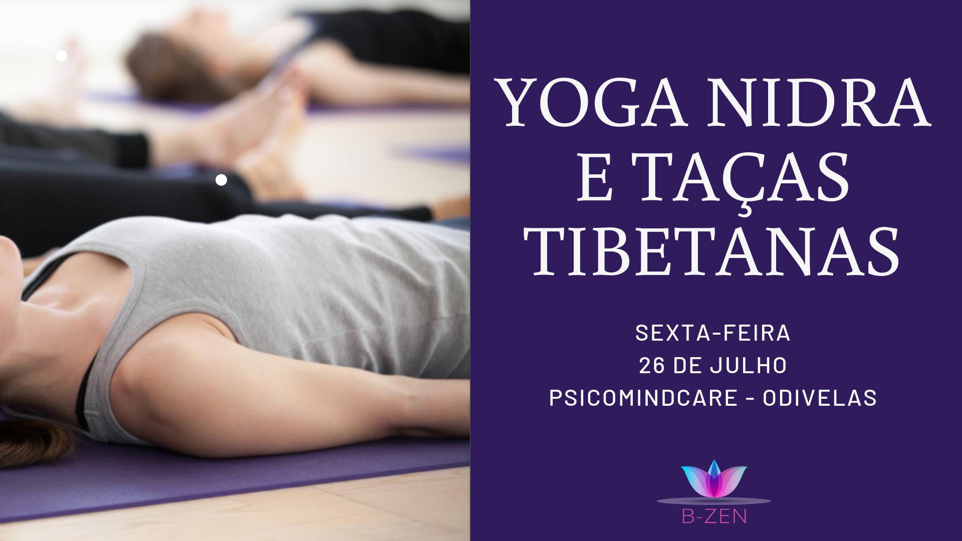 Relaxamento Profundo com Yoga Nidra e Taças Tibetanas em Odivelas