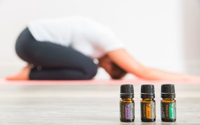 Workshop de Yoga com Óleos Essenciais - Gratidão